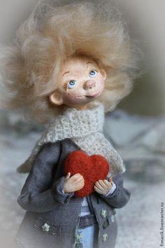 Купить или заказать Матюша в интернет-магазине на Ярмарке Мастеров. Маленький ангел с большим сердцем ... Очень нежный и добрый малыш, подарит тепло и улыбки вам и вашим близким.