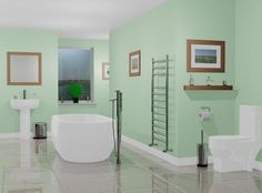 bathroom color inspiration
