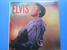 Elvis Presley ELVIS  LP lpm 1382  Elvis album #RocknRoll