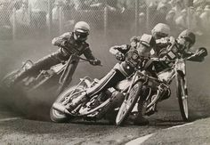 Speedway Racing, Mechanical Art, Dirt Racing, Goodwood Revival, Motorcycle Art, Motor Sport, Sidecar, Chevrolet Impala, Vintage Motorcycles