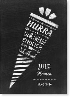 Hooray schoolchild invitation school introduction – New Ideas – Famous Last Words