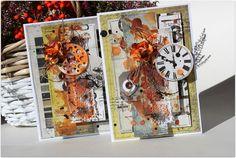 wiosanka: Kartki na jesień / Cards for autumn