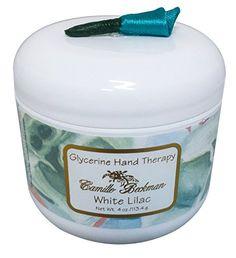 Camille Beckman Glycerine Hand Therapy, 4 Oz. Jar, White Lilac