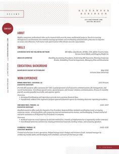Amazing Resume Template 7