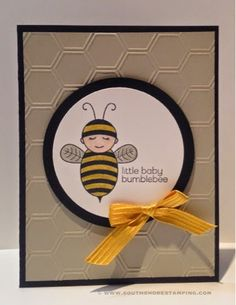 South Shore Stamping: Little Baby Bumblebee - CCMC342