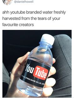 Ahhh. The refreshing taste of egotistical and rich teenagers' tears