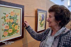 """Campomaiornews: Lili inaugura exposição de pintura """"Flores do meu ..."""