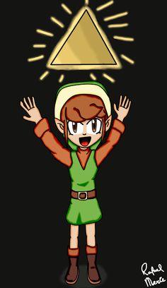 Rafael Merce: Link -The Legend of Zelda -Desenho