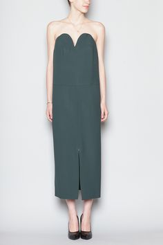 Maison Martin Margiela Bodice Dress (Deep Green)