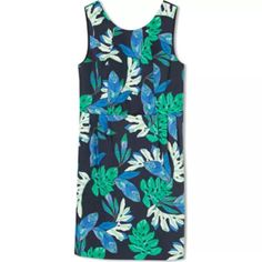 Marcs palm print shift dress