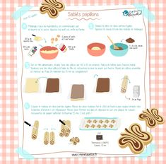Sablés papillon Healthy Toddler Breakfast, Macarons, Birthday Brunch, Sweet Cookies, Chocolate Fondant, Food Illustrations, Cooking Classes, Diy Food, Finger Foods