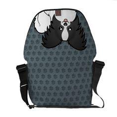 Cartoon Papillon Commuter Bags