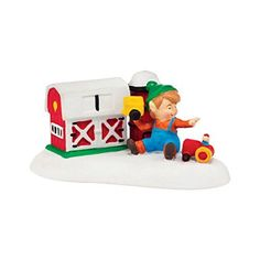 Department 56 North Pole Village FisherPrice Lil Farmer Accessory 11Inch * Visit the image link more details.