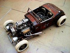 Awesome #RatRod top shot. #HotRod #Custom #American #Tradition #Classic