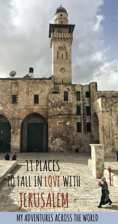 There are some beautiful places in Jerusalem, some hidden gems that most travelers never get to see. Here's a few of the nicest places to visit in Jerusalem   #jerusalem #israel