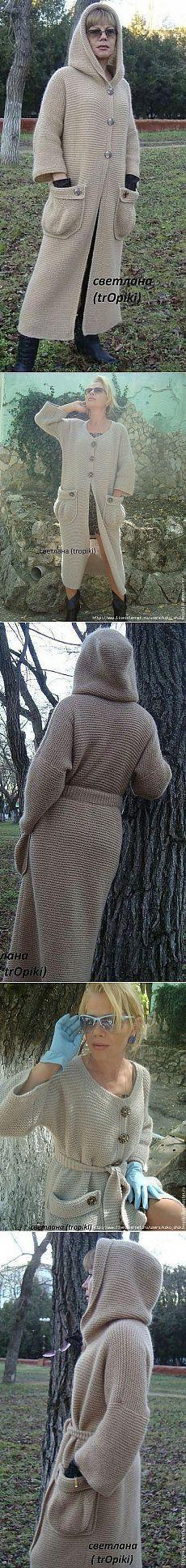 сообщение koko_shik : Потрясающе красивое, стильное пальто спицами платочной вязкой. Автор Светлана (trOpiki) (14:37 09-08-2015) [5591840/368994692] - irina-lena@inbox.ru - Почта Mail.Ru
