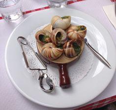 Escargots de Bourgogne beurre persillé