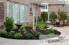 At Stewart Land Designs we specialize in the design and installation of custom pools, irrigation, lighting, pavers, retaining walls and water features.