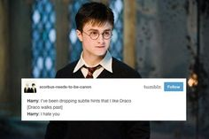 21 Tumblr Posts You'll Only Find Funny If You Ship Draco And Harry