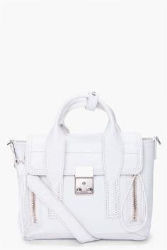 White 3.1 Phillip Lim mini pashli satchel