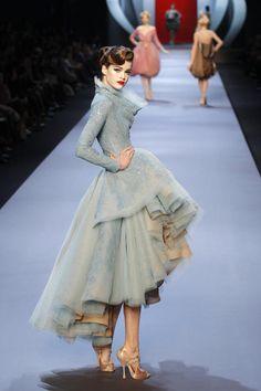 John Galliano, haute couture, couture, fashion, catwalk, runway, designer, dior