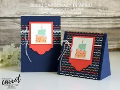 Stampin' Up! UK - Cards, Tutorials & Ideas from Stamping With Val - Shop Stampin' Up! Here 24/7 - Cake Crazy For The Crafty Carrot Blog Hop