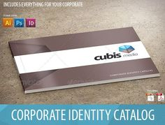 Great Complete Business Identity Template With Catalog Design ...