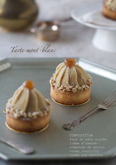 Mont Blanc tart: Lovely-Jubbly a day-to-day