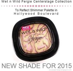 Review: Wet n Wild Fergie Centerstage To Reflect Shimmer Palette in Hollywood Boulevard (New for 2015)