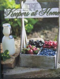 Subscribe to the popular Keepers at Home Magazine  Order online www.cottagecraftworks.com or by phone 281-638-0050