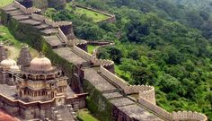 Birthplace of the famous Mewar ruler Maharana Pratap and a World Heritage Site, Kumbhalgarh is the most important fort in Rajasthan after Chittorgarh. It has the second longest wall in the world after Great Wall of China!