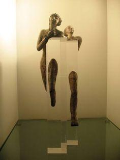 "Saatchi Art Artist Betty Wachsstock Schonfeld; Sculpture, ""Transparency"" #art"