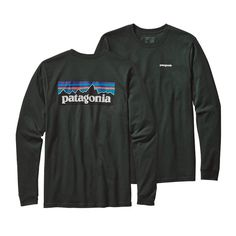 A durable long sleeved, organic cotton, regular fit T-shirt that's made with U.S. grown organic cotton and imprinted with a Patagonia original graphic…