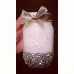 Loving this Mason Jar! Use it for holding anything from make-up brushes, pens & any odds & ends!!