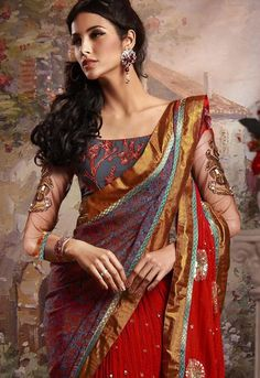 Beautiful Bridal Sari