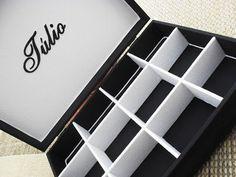 Tudo em Caixas - Caixas em MDF e Tecido (67)3211-7767: caixa masculina