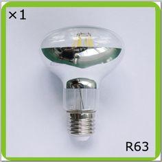 4.50$  Buy now - http://ali9b6.shopchina.info/go.php?t=32650065137 - Manufacturer 120V 220V 230V 240V 6W or 8W led spot light R63 led bombilla LED luminaria E27 glass type filament led PAR BR light  #SHOPPING
