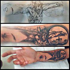 #designedbyme..#draw #drawing #drawings #tattoodesign #jesus #jesuschrist #crucifixionofjesuschrist #jesuscrucifixion #tattoo #tattooart #tattooartmagazine #ink #dövme #dövmesanatı Dove Tattoos, Bad Tattoos, Body Art Tattoos, Sleeve Tattoos, Jesus Hand Tattoo, Religous Tattoo, Patriotic Tattoos, Crucifixion Of Jesus, Tattoo Themes