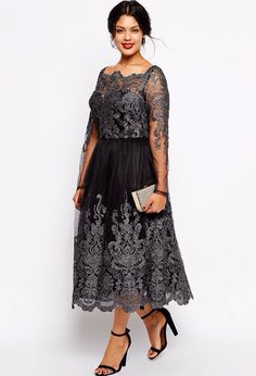45 Plus Size Wedding Guest Dresses with Sleeves
