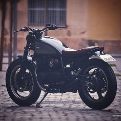 "overboldmotorco:  "" Good morning! #kawasaki #zx400 #tracker #caferacer #barcelona #customade #bespoke #motorcycles #gpz400 #caferacerxxx #caferacerofinstagram by @overboldmotorco http://ift.tt/1lsDfnV  """