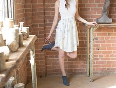 You can't go wrong with the classic ankle bootie. with Blanchard Financial and Grinsteinner Barley Sore Feet, Festival 2017, Blue Suede Shoes, Custom Shoes, Ankle Booties, Poppy, Blue Jeans, Footwear, Classic