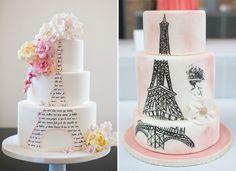 Inspiração, Bolos, Tema Paris, Festa de 15 anos, Debutantes