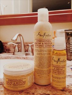 """""""I gave in and purchased these yesterday! SheaMoisture Jamaican Black Castor Oil…"""