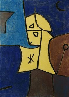 Titre de l'image : Paul Klee - High Guardian (Hoher Wächter)