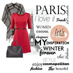 my inspirations ... Paris, fashion, red, elegance ...