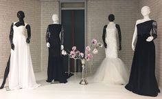 Ghimells I Haute Couture I Dresses I White I Darkblue I Fashion