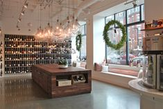Urban Grape in Boston - polished concrete, great natural and artificial light