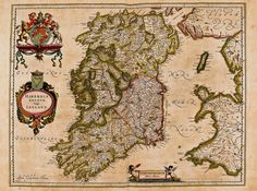 World view: Ireland as it appeared in the Dutch cartographer Joan Blaeu's elaborate, stunning Atlas Maior. Photograph: DEA/G Cigolini/Veneranda Biblioteca Ambrosiana/De Agostini/Getty -- On the Map: Why the World Looks the Way It Does - The Irish Times - Sat, Nov 03, 2012 >~> http://awe.sm/i8oG0