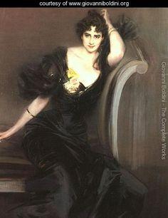 Lady Colin Campbell 1897 - Giovanni Boldini - www.giovanniboldini.org