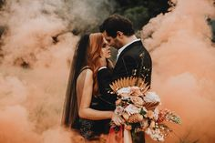 """NC Wedding Planner + Florist's Instagram post: """"I now & forever need smoke bombs in my life... who agrees?! It adds such an edgy touch & it's perfect for when your backdrop may not be…"""" Now And Forever, Event Design, Wedding Planner, Backdrops, Floral Design, Smoke Bombs, My Life, Hair Makeup, Seeded"""